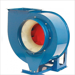 Low- and middle-pressure centrifugal fans were brought into production.